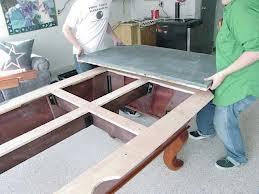 Pool table moves in Boulder Colorado