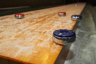 SOLO® Shuffleboard Movers Boulder, Colorado.